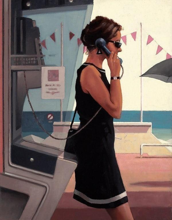 Her Secret Life ~ Jack Vettriano