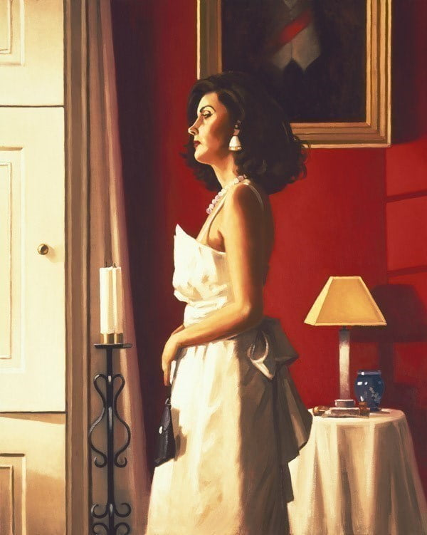 One Moment in Time ~ Jack Vettriano