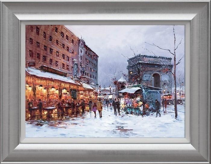 Paris in the Snow ~ Henderson Cisz