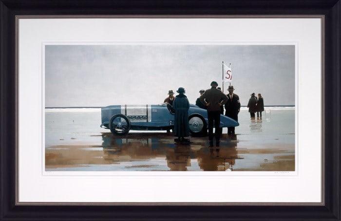 Pendine Beach ~ Jack Vettriano