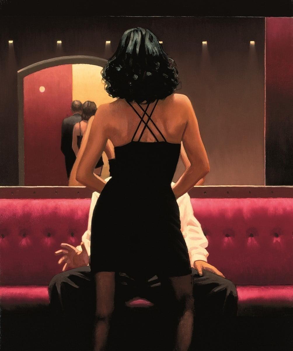 Private dancer (paper) - vettriano ~ Jack Vettriano