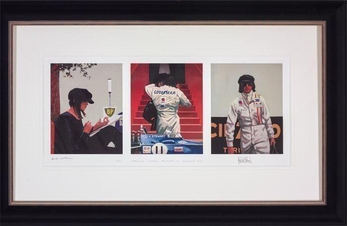 Tension, Timing, Triumph ~ Jack Vettriano
