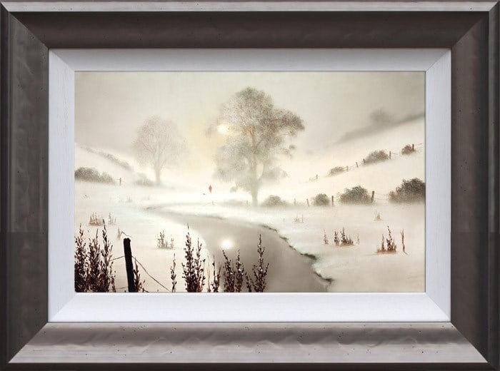 The First Snowfall ~ John Waterhouse