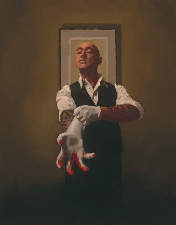 The Master Tattooist ~ Jack Vettriano