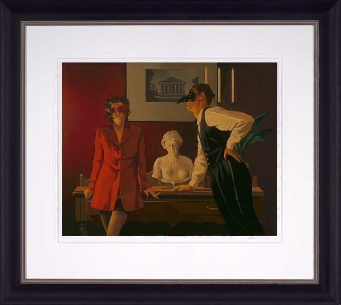 The Sparrow and the Hawk ~ Jack Vettriano
