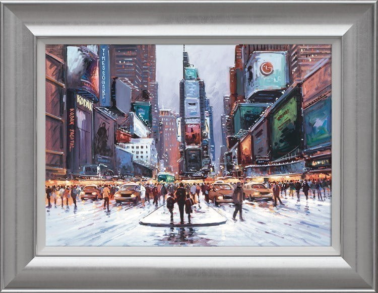 Times Square at Twilight ~ Henderson Cisz