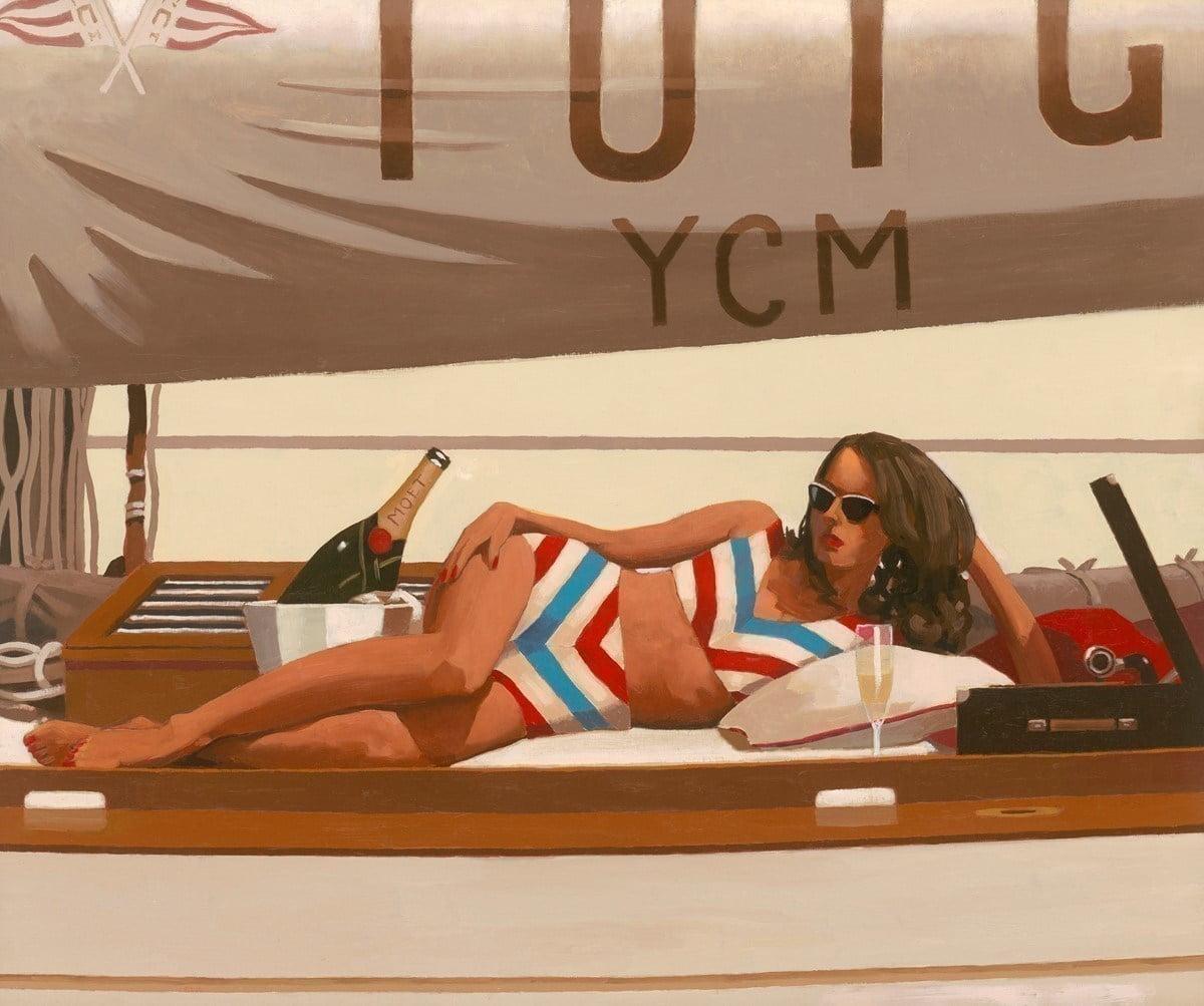 Sunshine and Champagne ~ Jack Vettriano