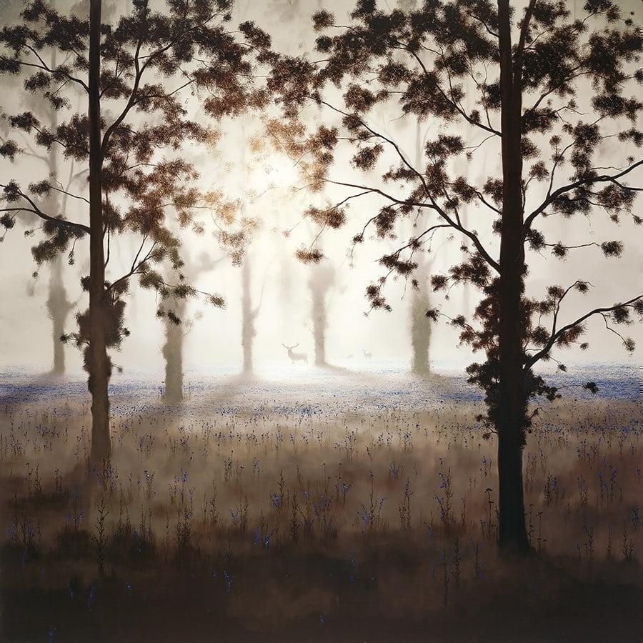 Woodland Dawn ~ John Waterhouse