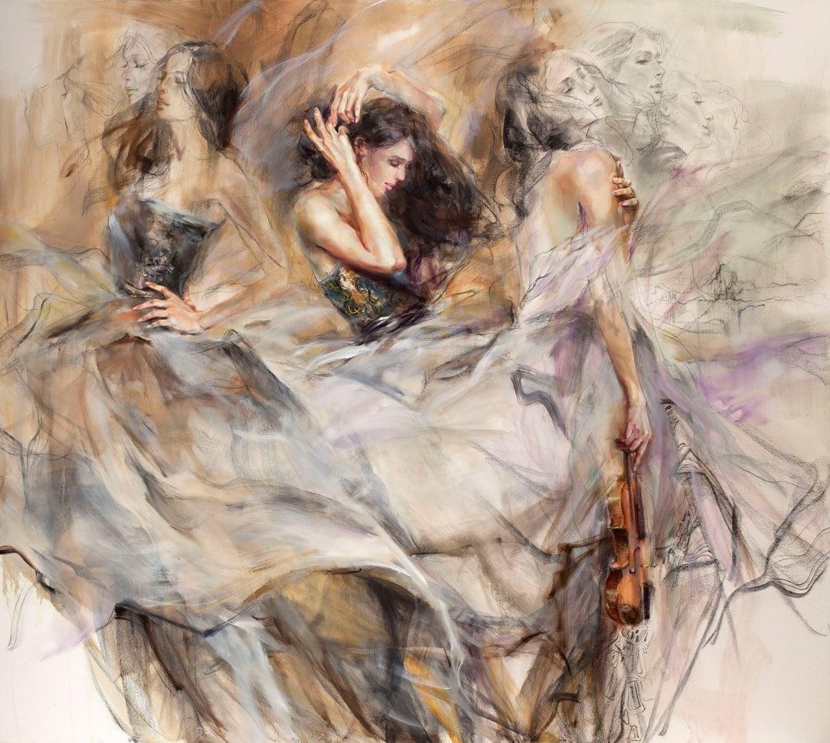 Auburn melody - Females. ~ Anna Razumovskaya