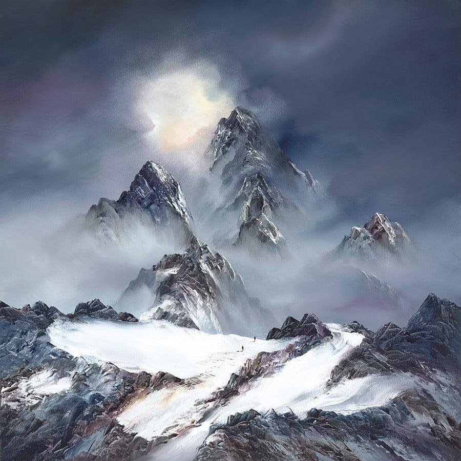 Mountain Light ~ Philip Gray