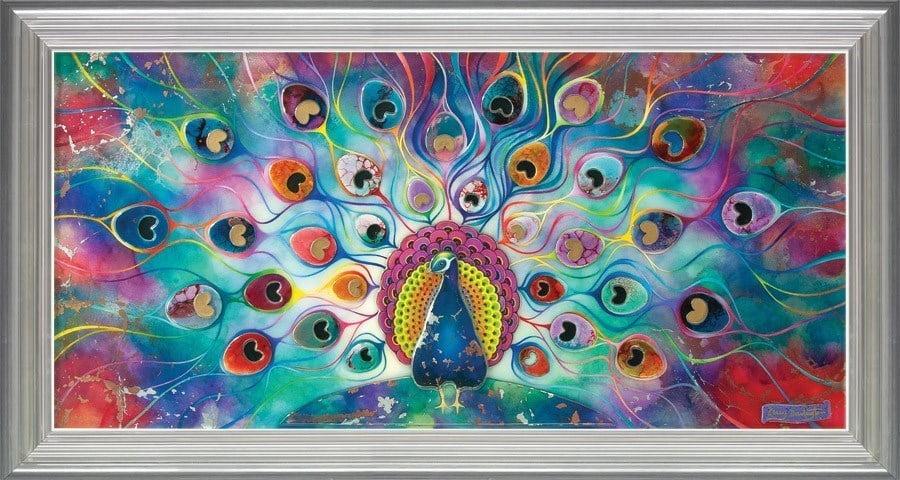 Peacock Splendour ~ Kerry Darlington