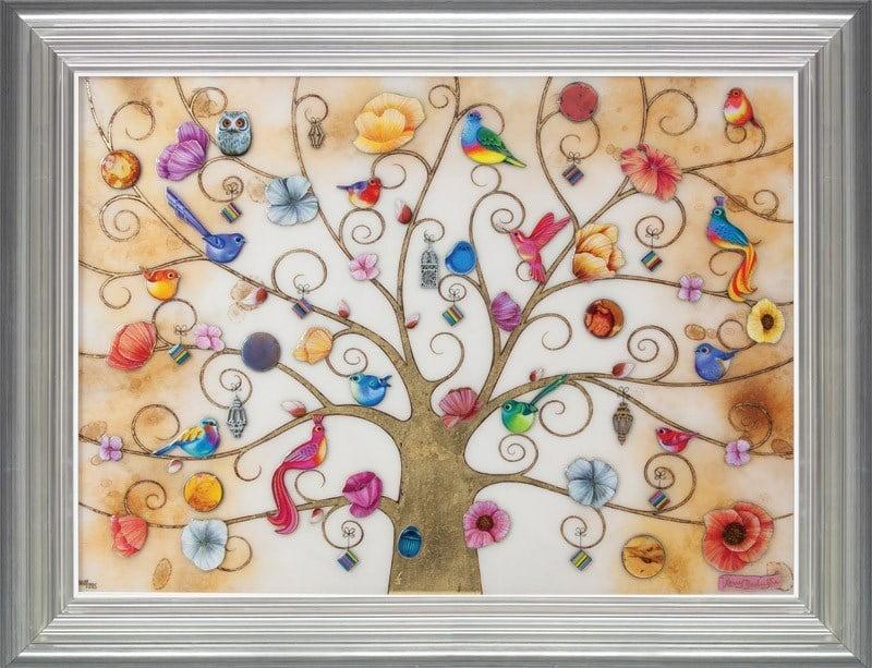 Tree of Life Oriental Gold ~ Kerry Darlington