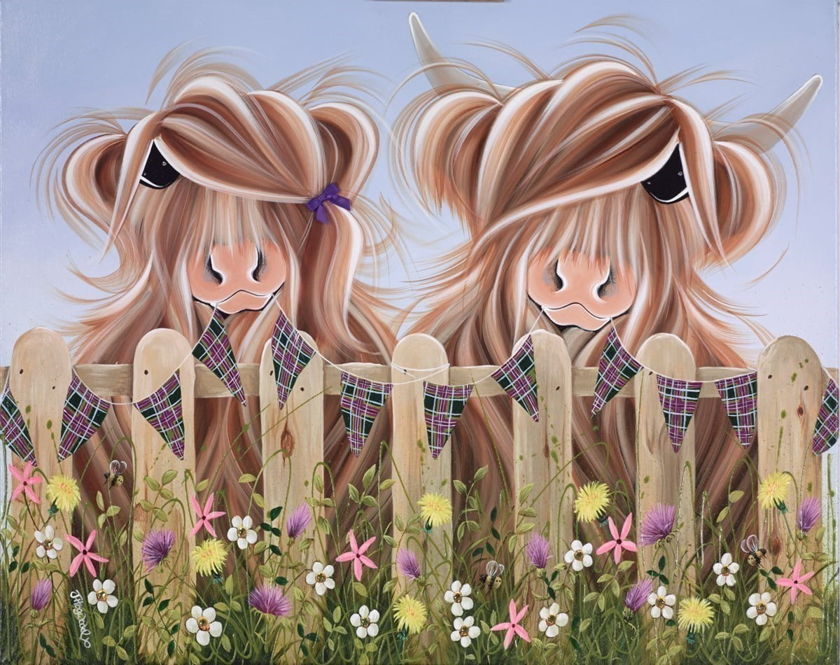 Highland Moo ~ Jennifer Hogwood