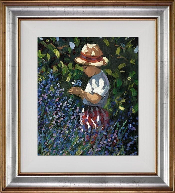 Picking Bluebells ~ Sherree Valentine Daines
