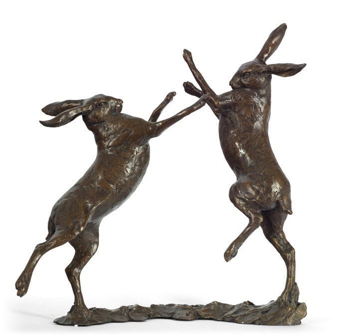 Duel (Boxing Hare) ~ Michael Simpson