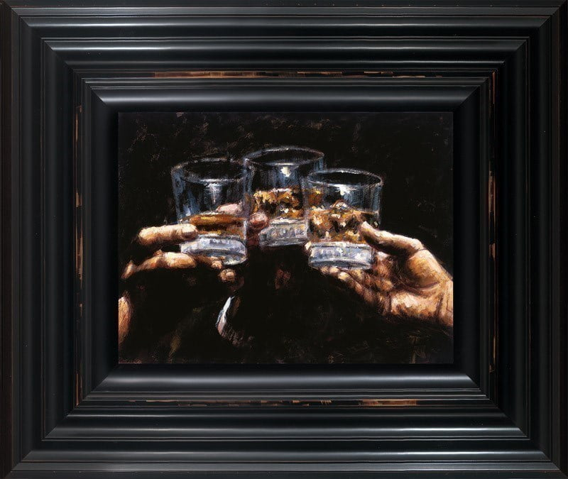 Study for Whiskey ~ Fabian Perez