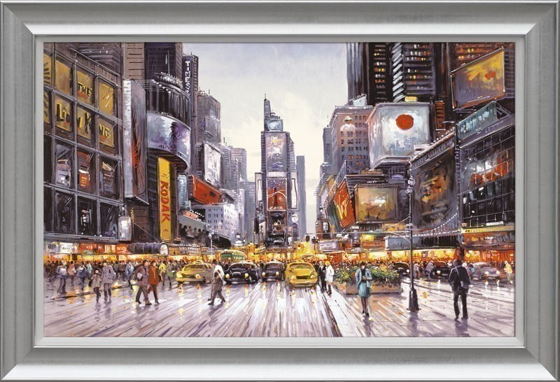 Times Square Morning ~ Henderson Cisz