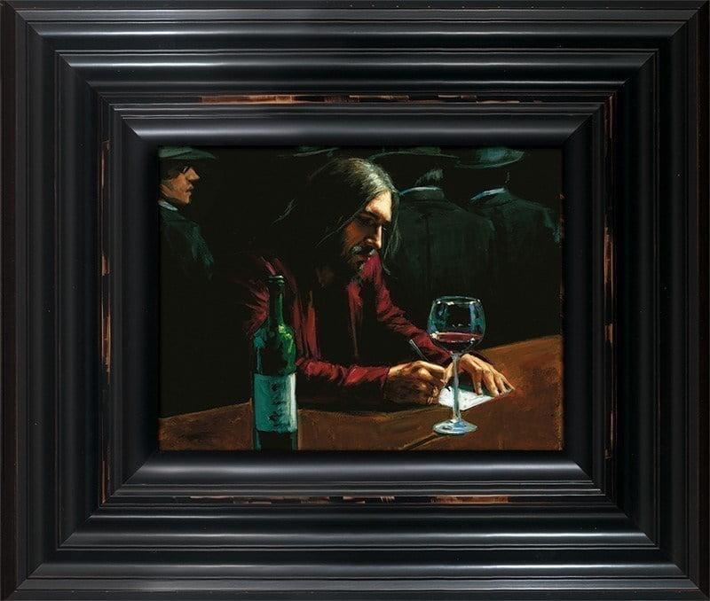 Man at Bar VII ~ Fabian Perez