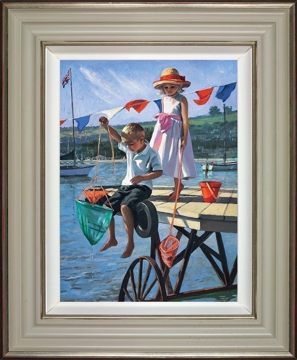 Fishing From the Jetty ~ Sherree Valentine Daines