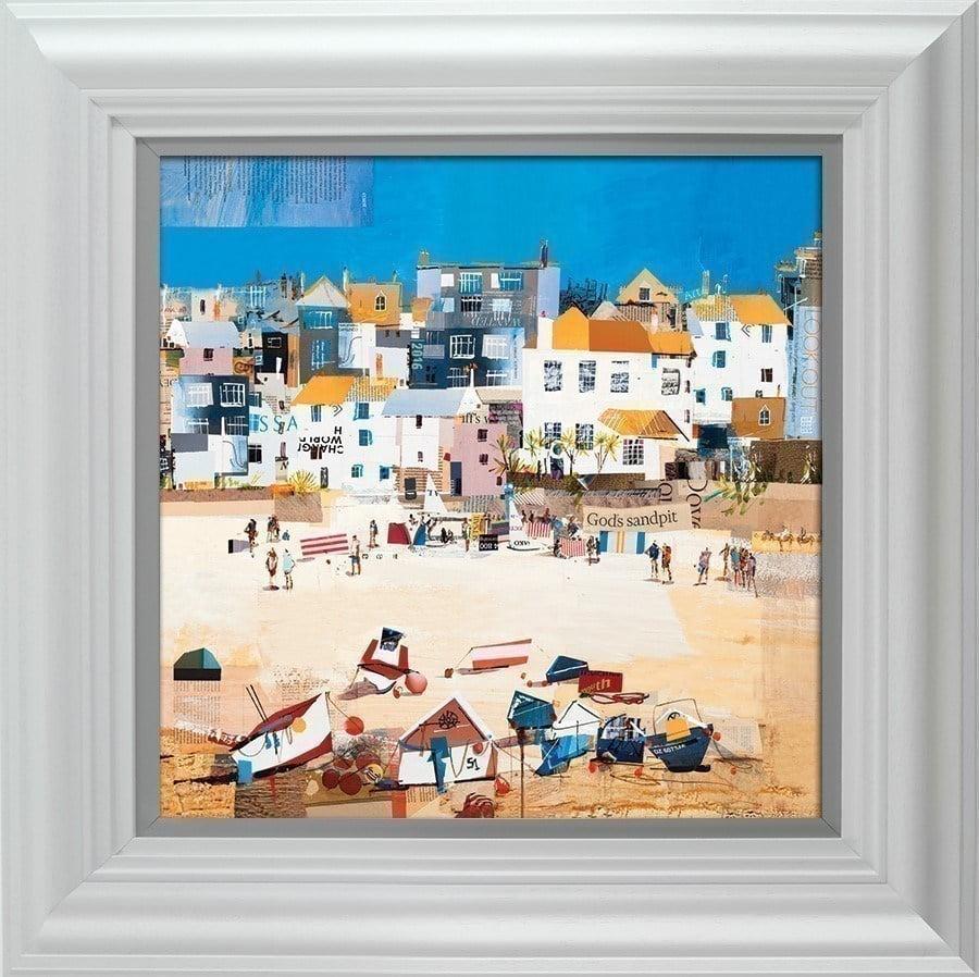 Castles, St Ives Beach ~ Tom Butler