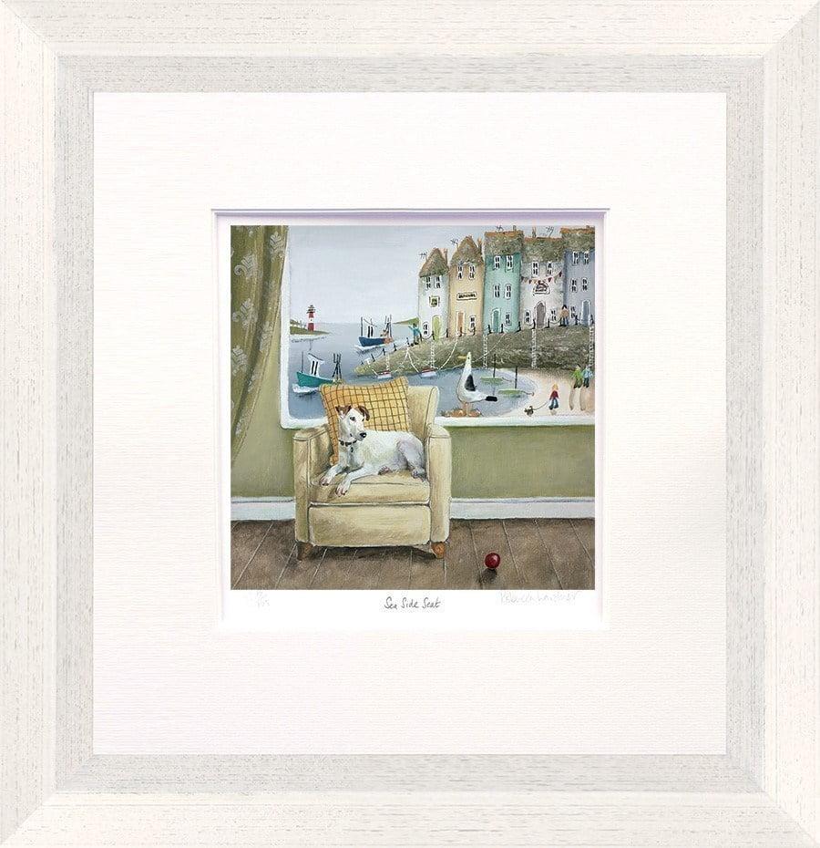 Sea Side Seat ~ Rebecca Lardner