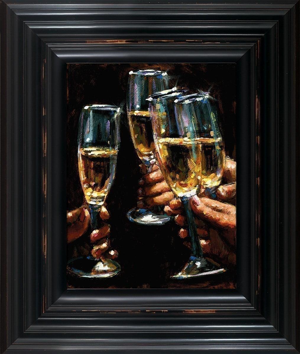 Brindis Con Champagne - Vertical ~ Fabian Perez