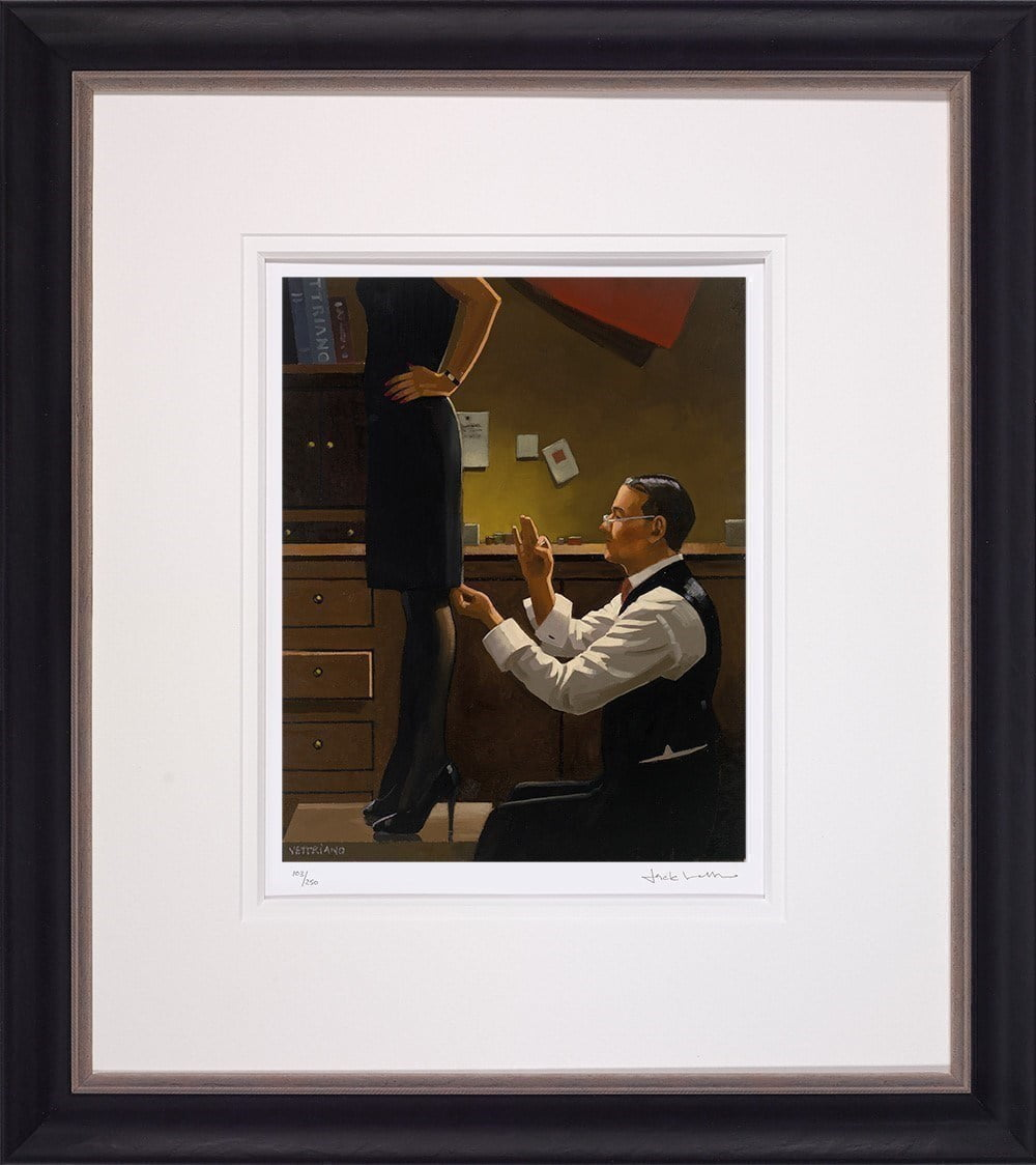 The Devoted Dressmaker ~ Jack Vettriano