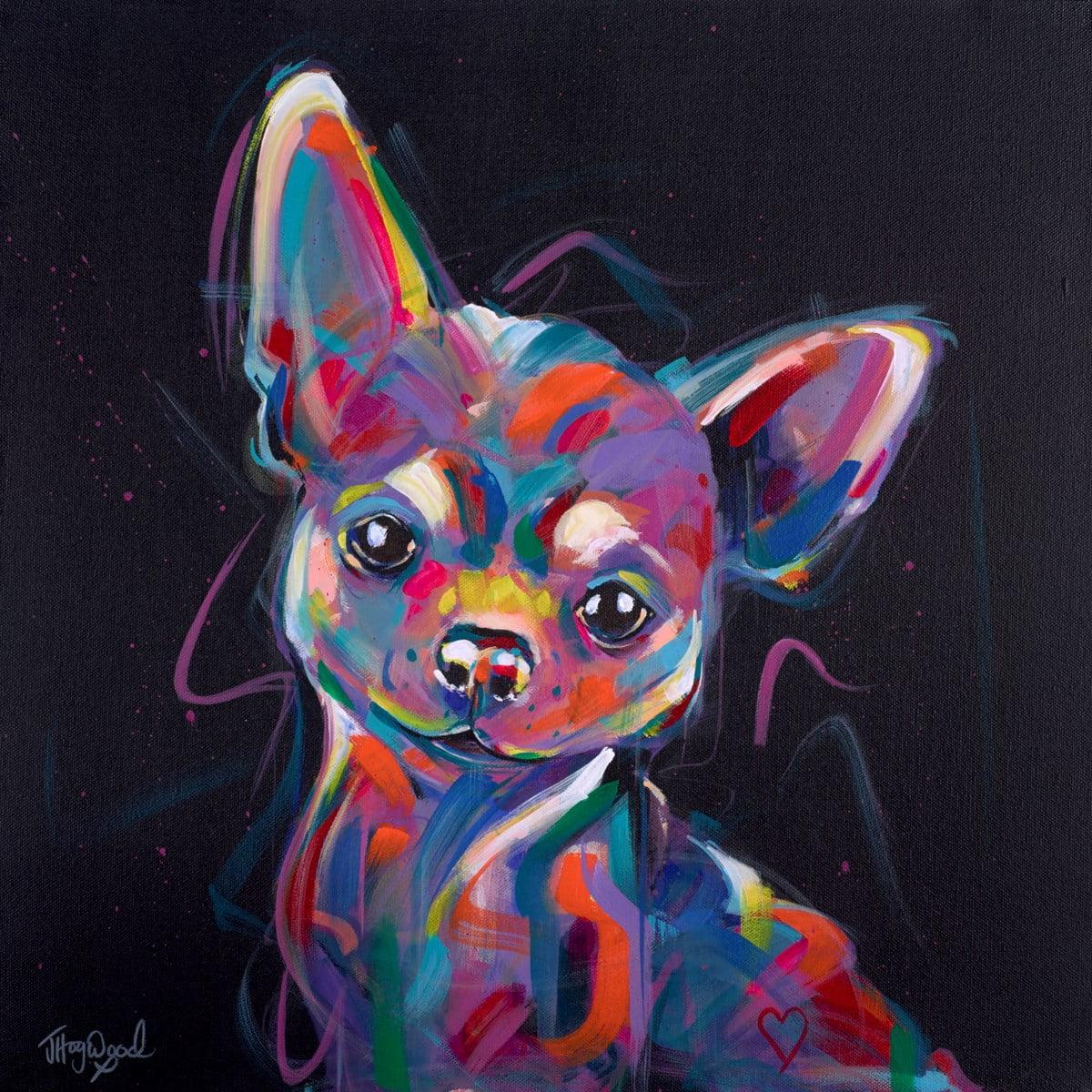 Disco Chihuahua ~ Jennifer Hogwood