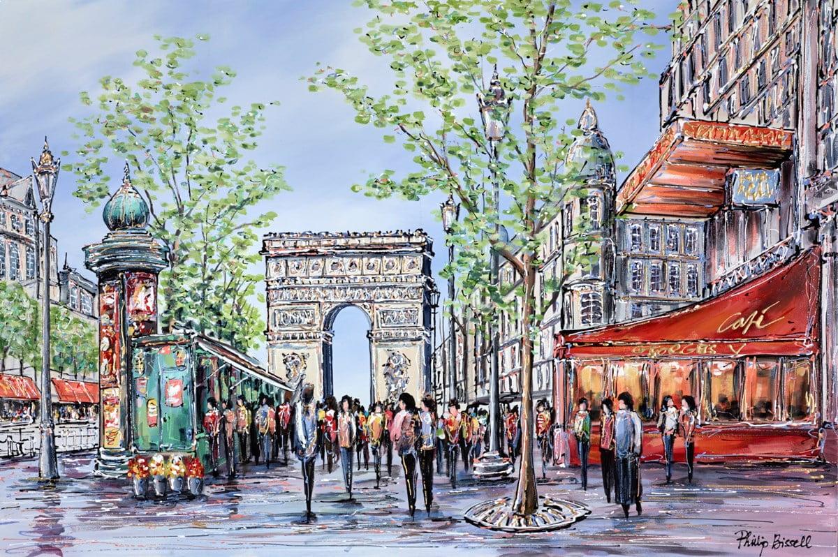 Champs Elysees, Paris ~ Phillip Bissell