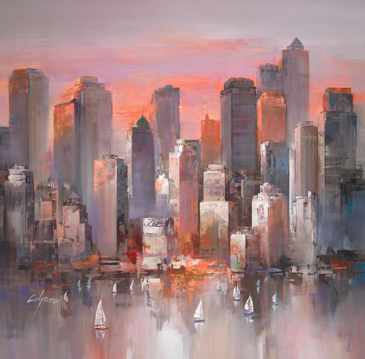 City Sundown II ~ Wilfred