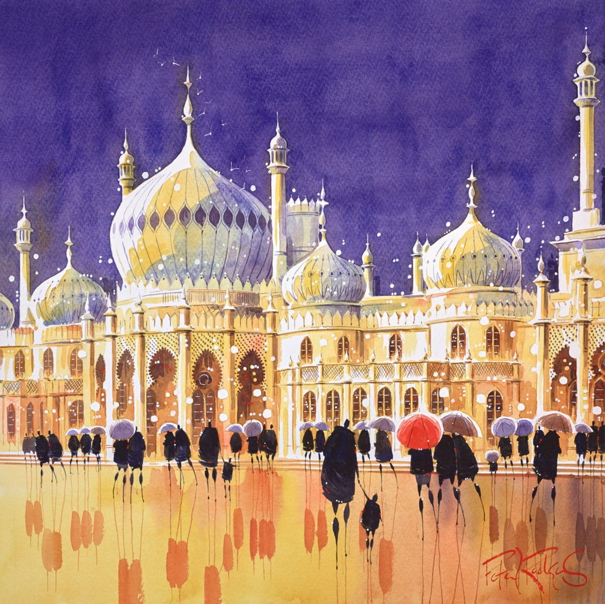 Pavilion Reflections, Brighton ~ Peter J Rodgers