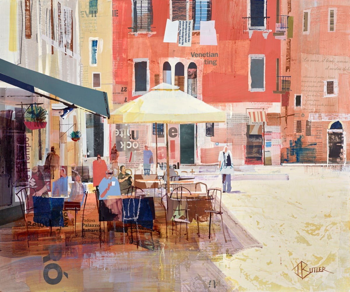 Sun and Cappuccinos ~ Tom Butler