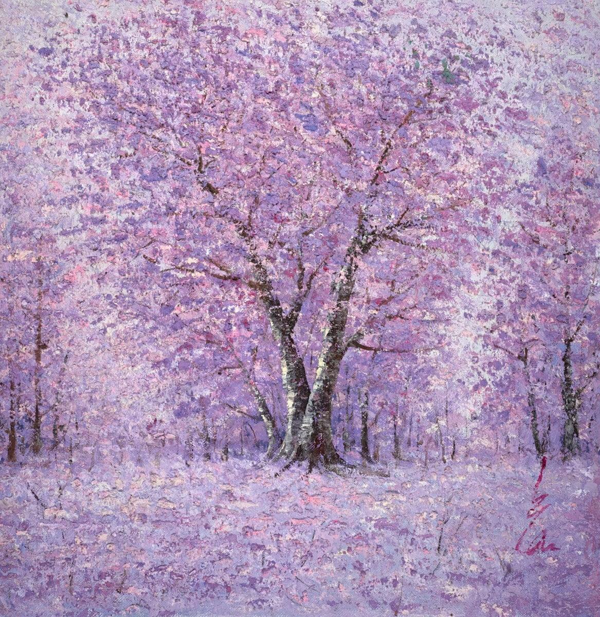 Violet Wood I ~ Inam