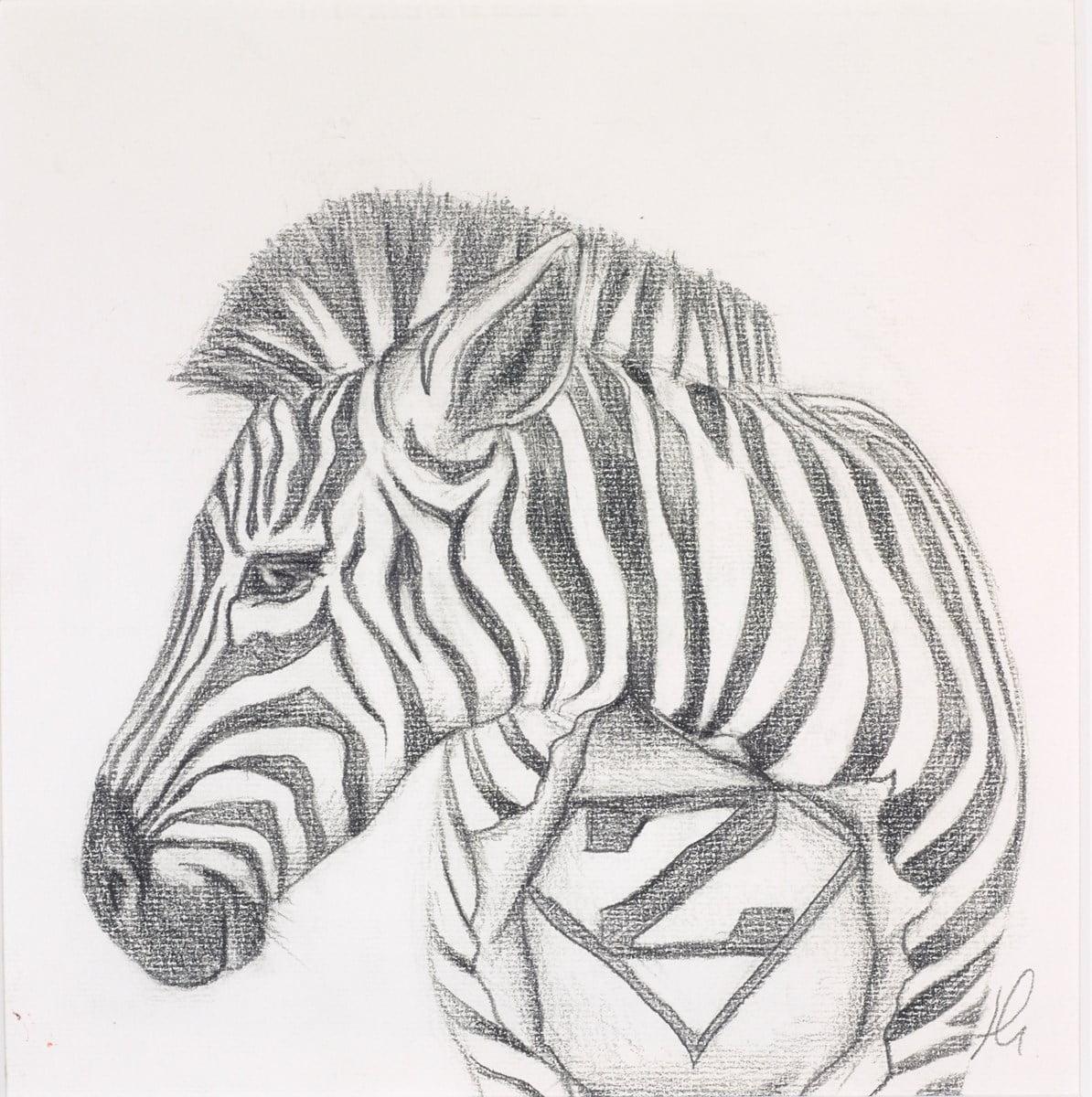 Zooperman Study Sketch ~ Hayley Goodhead