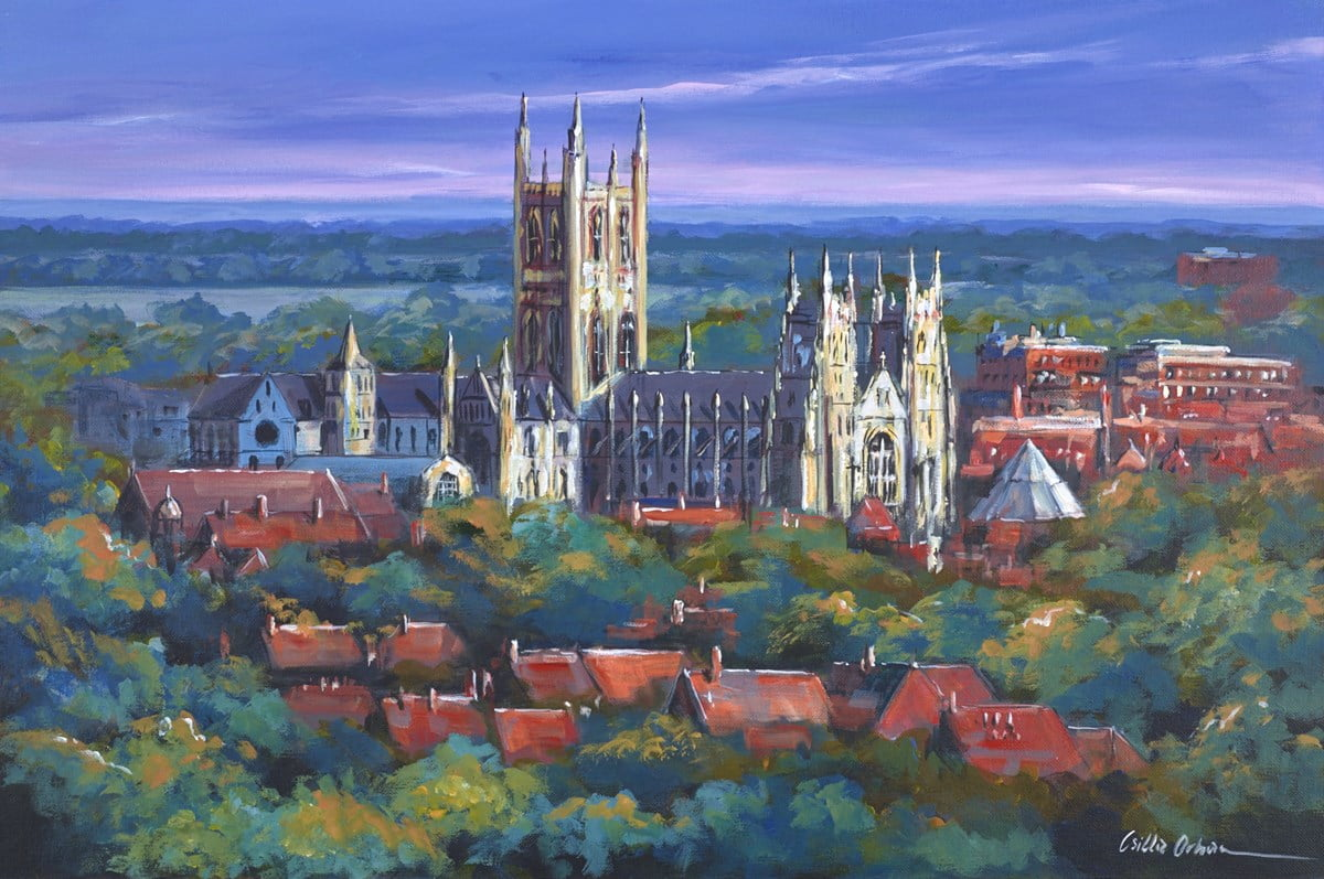 Canterbury Cathedral View ~ Csilla Orban