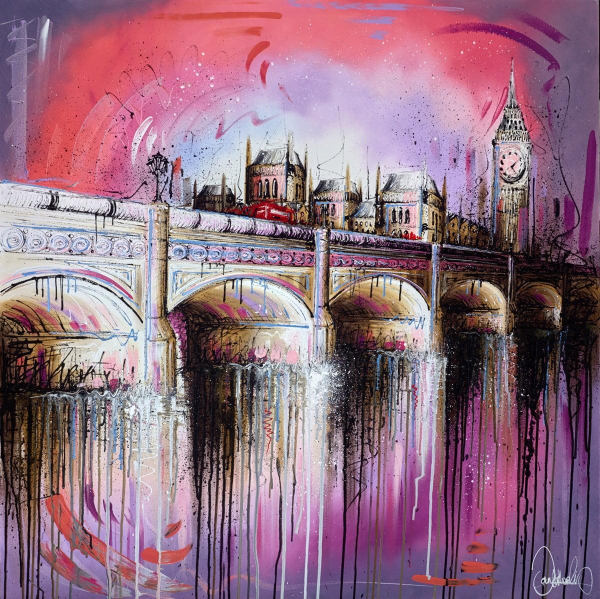 Rosy Reflections II ~ Samantha Ellis