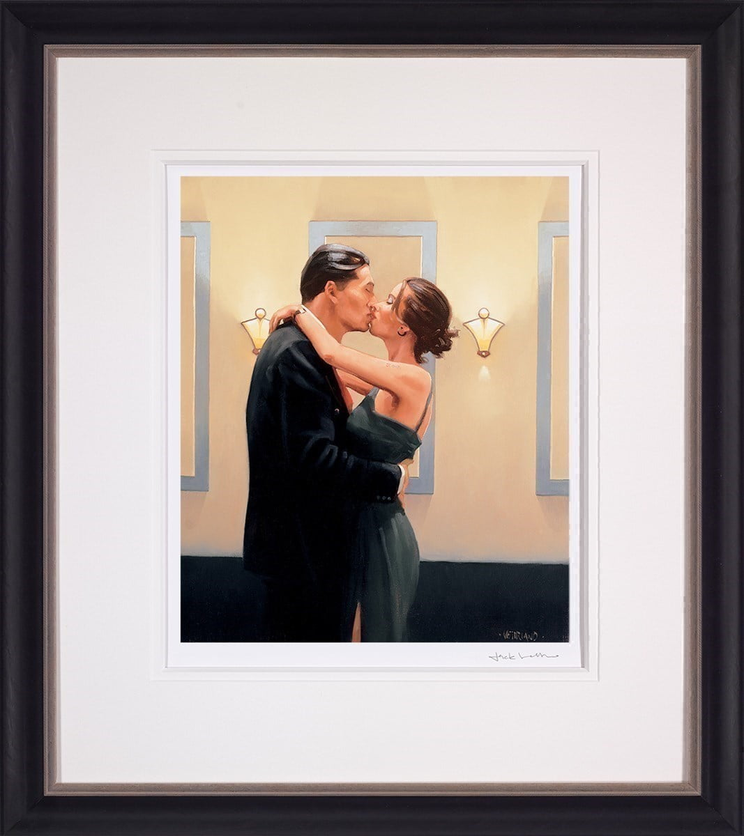 Betrayal - First Kiss ~ Jack Vettriano