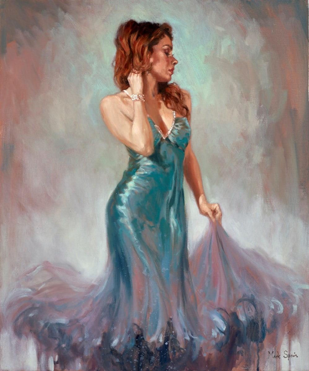 The Blue Dress ~ Mark Spain