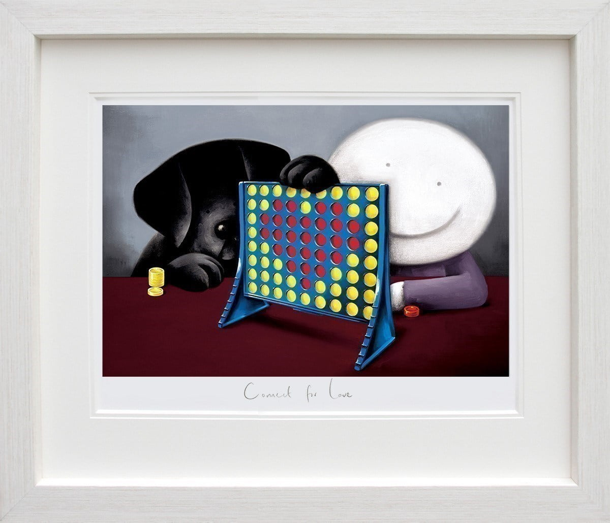 Connect 4 Love ~ Doug Hyde