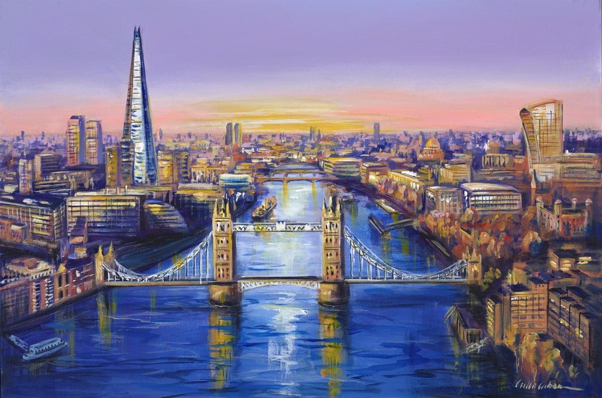 Thames View II ~ Csilla Orban