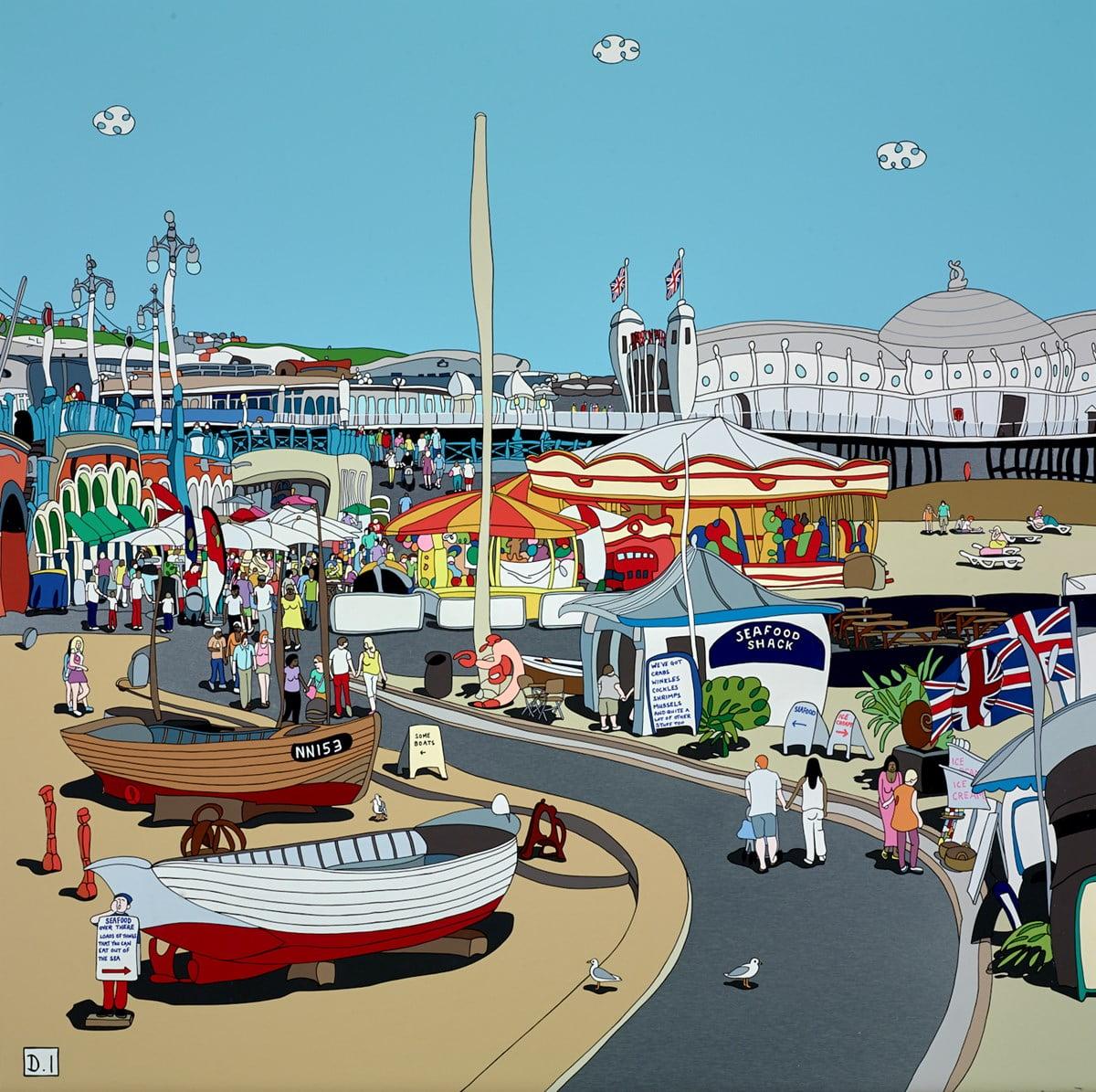 Brighton Seafront II ~ Dylan Izaak