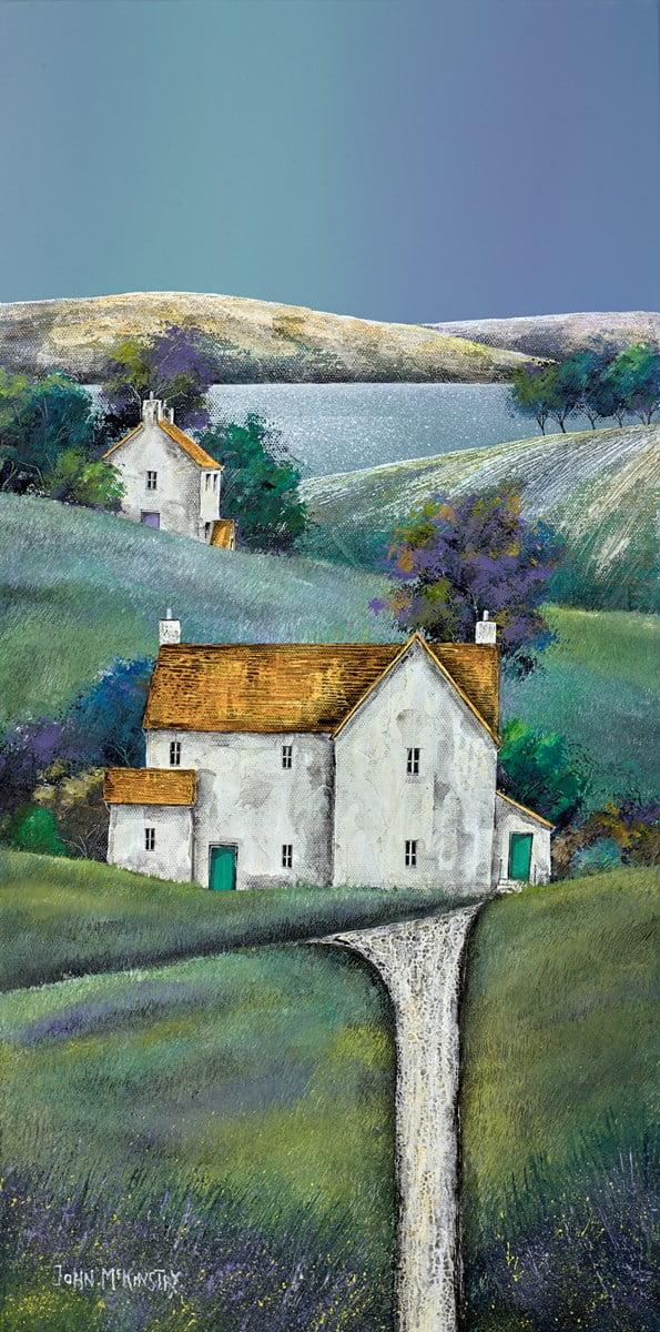 Green Fields ~ John Mckinstry