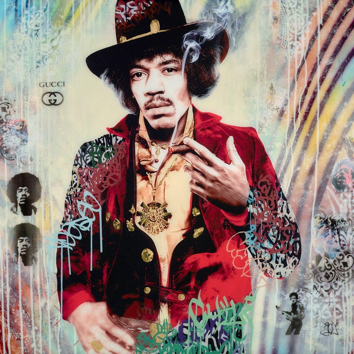 Jimi Hendrix II ~ Srinjoy