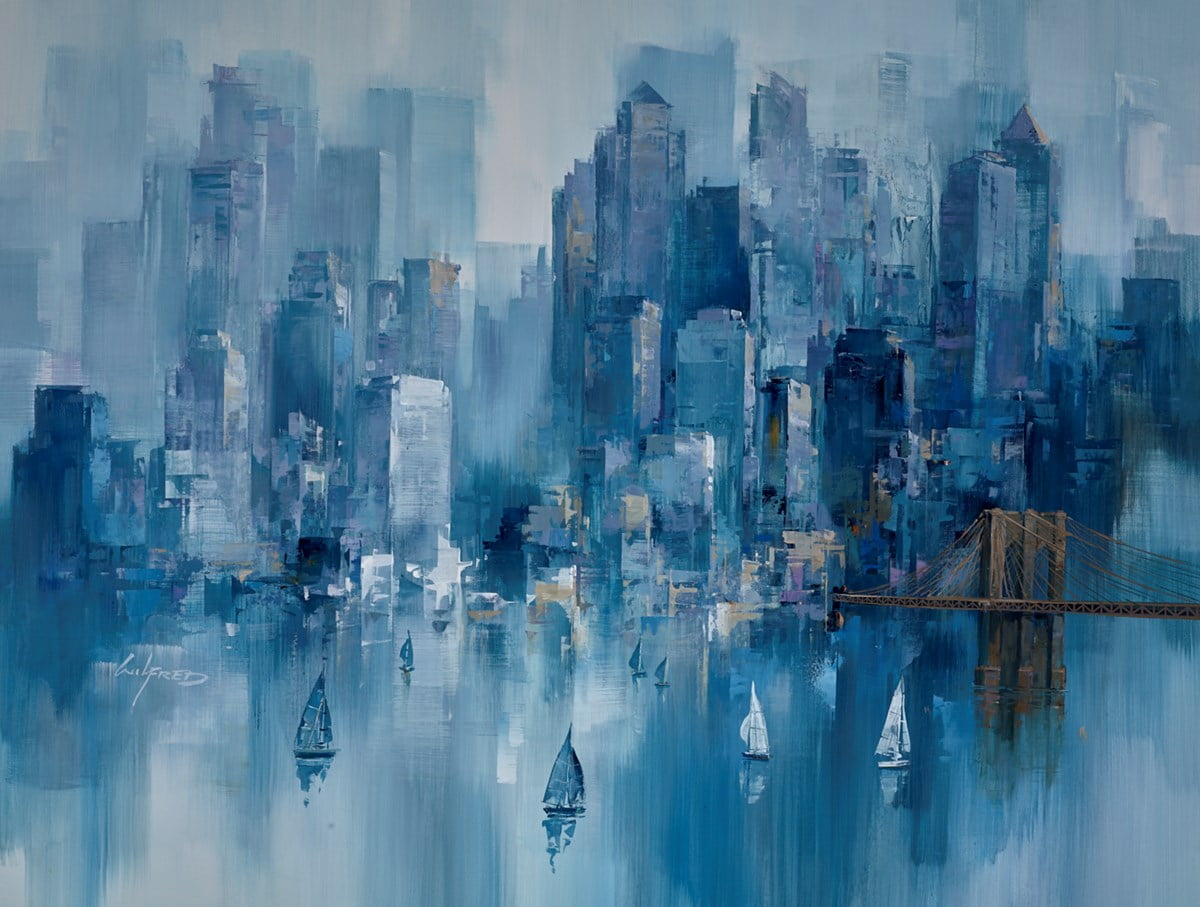 Blue Towers III ~ Wilfred