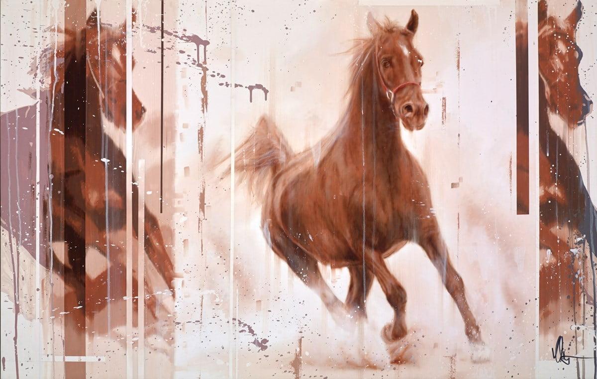 Chestnut Horse ~ Kris Hardy