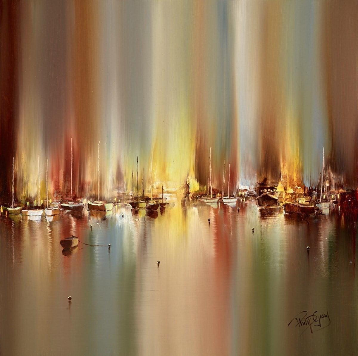 Harbour Hush I ~ Philip Gray