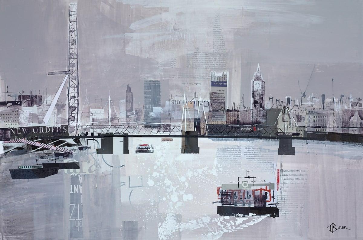 London Skyline Study ~ Tom Butler