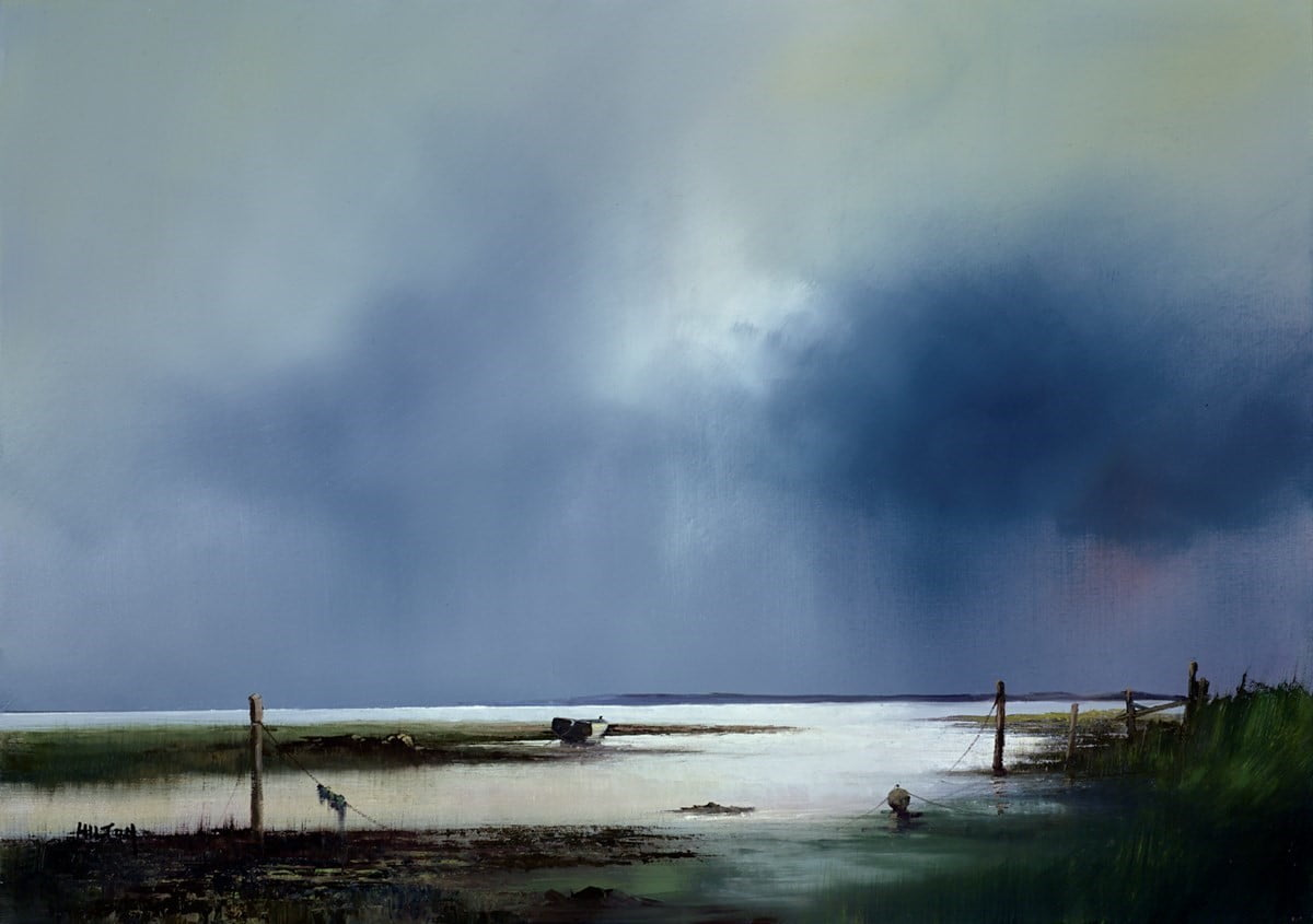 Mudflat Mooring ~ Barry Hilton
