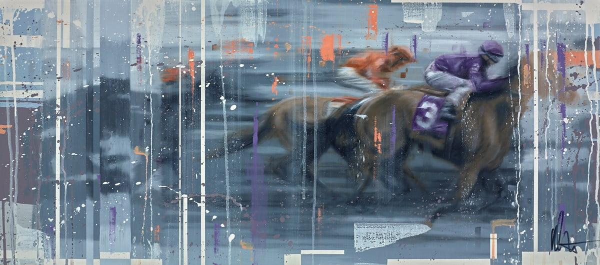 Race Horses IV ~ Kris Hardy