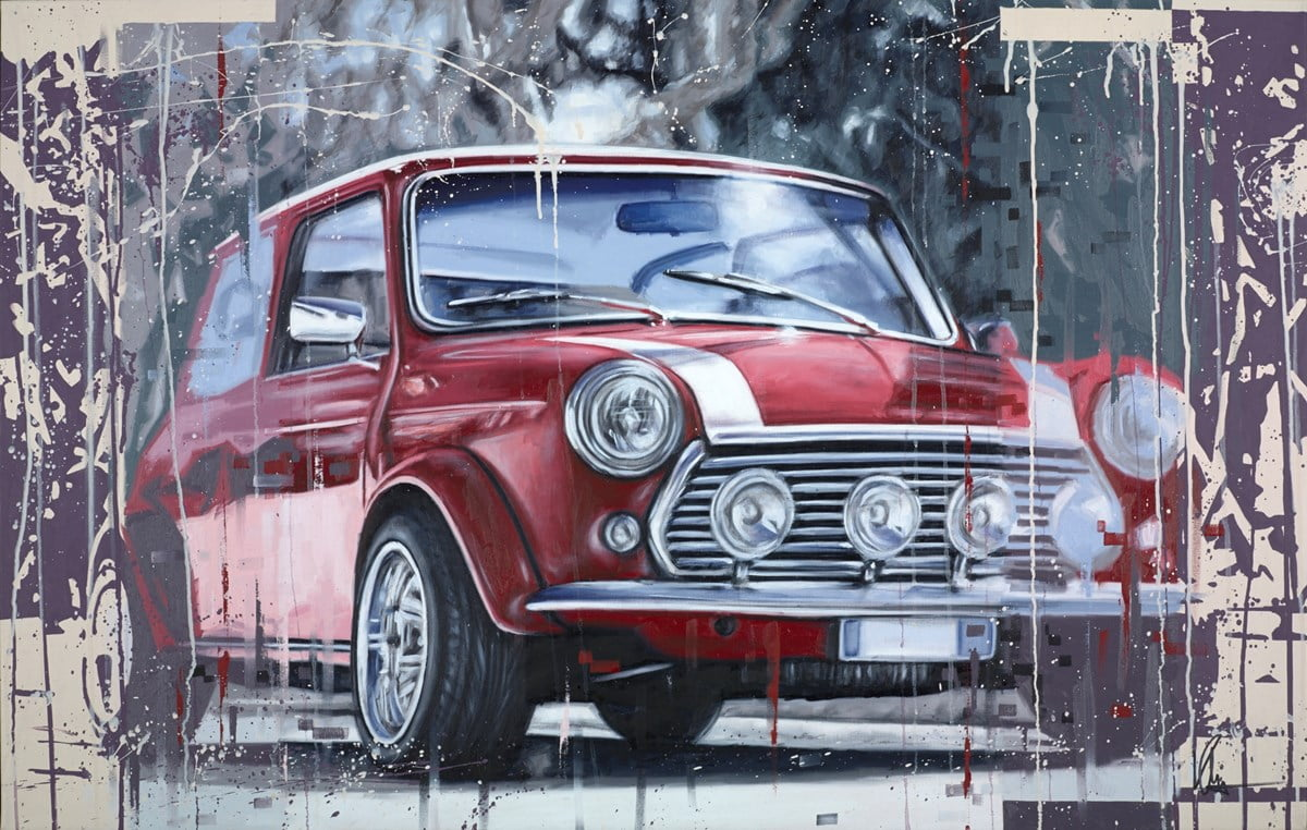 Red Mini ~ Kris Hardy